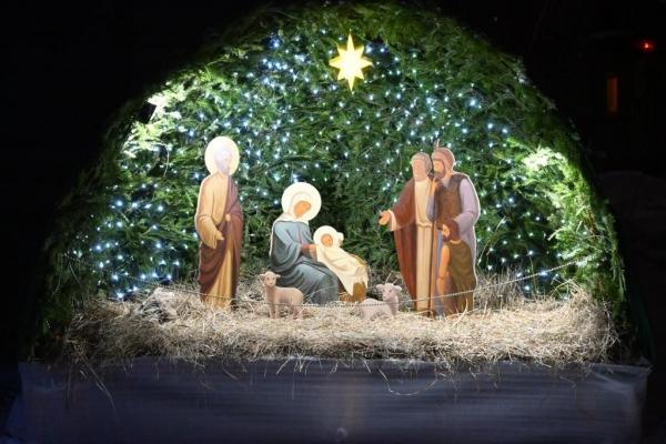 Рождество Христово в Храме в честь Иверской иконы Божией Матери в Бабушкине
