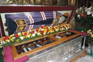 Принесение в Москву ковчега с частицей мощей святителя Луки (Войно-Ясенецкого), исповедника, архиепископа Симферопольского и Крымского.