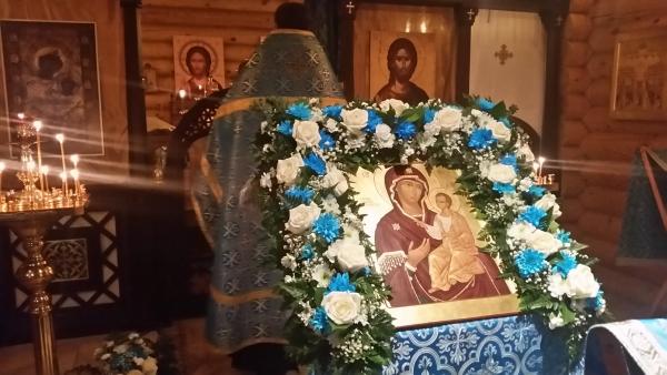 Престольный праздник в честь Иверской иконы Божией Матери