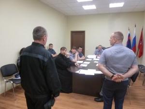Заседание административной комиссии при СИЗО-1