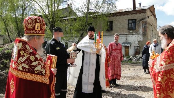 """Пасхальное поздравление в СИЗО-1 """"Матросская Тишина"""" 5 мая 2021г."""